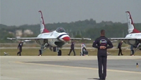 Thunderbirds Engine start & Taxing
