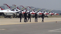 Thunderbirds Walk Down